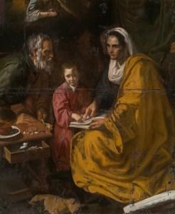 Educación de la Virgen. Yale University